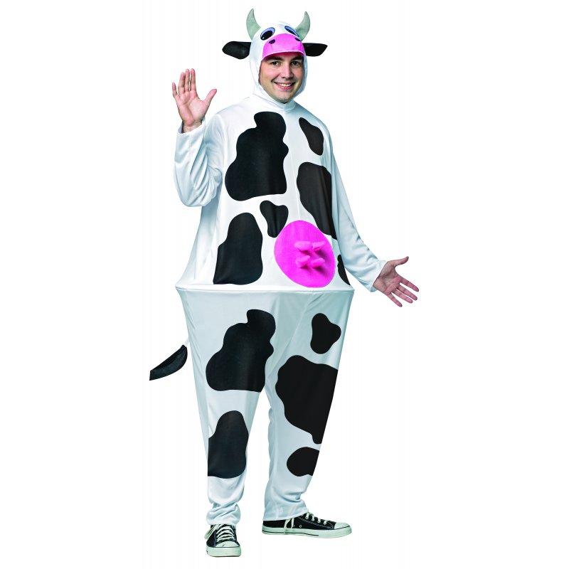 Die Muhkuh Kuh Kostüm mit Reifrock Einheitsgröße